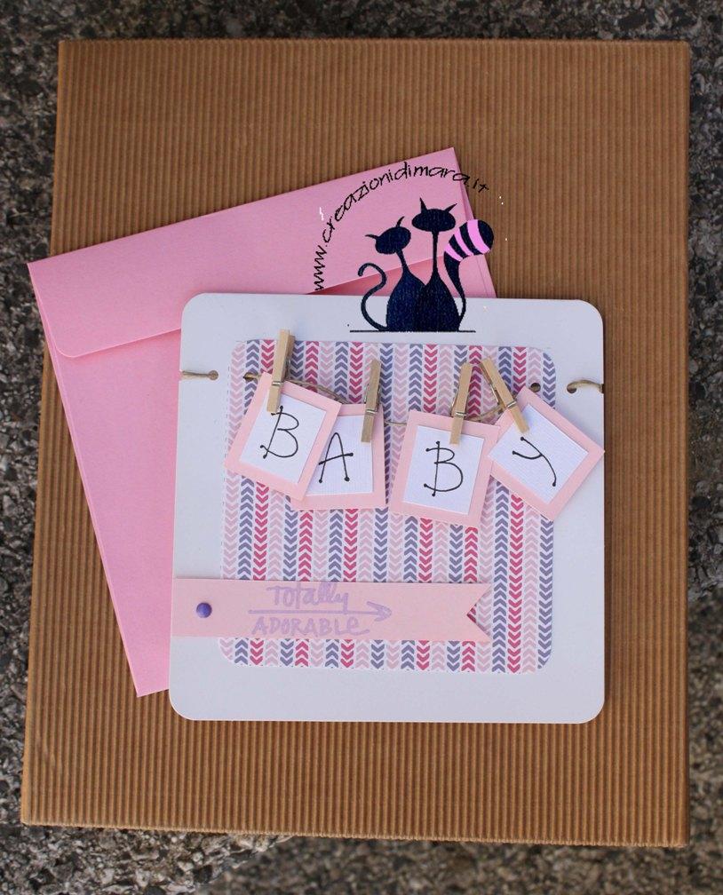 card baby girl